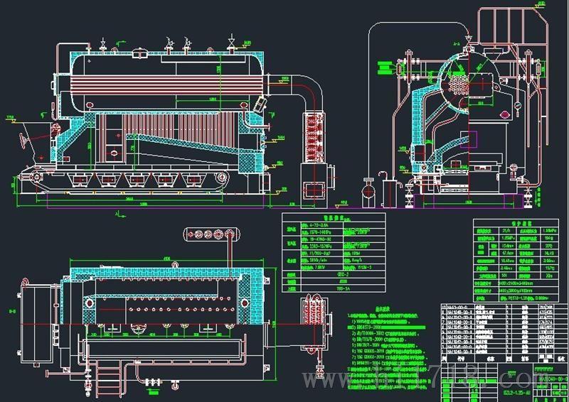 蒸汽管路设计图纸