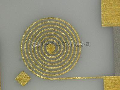 螺旋电感电路,氮化铝