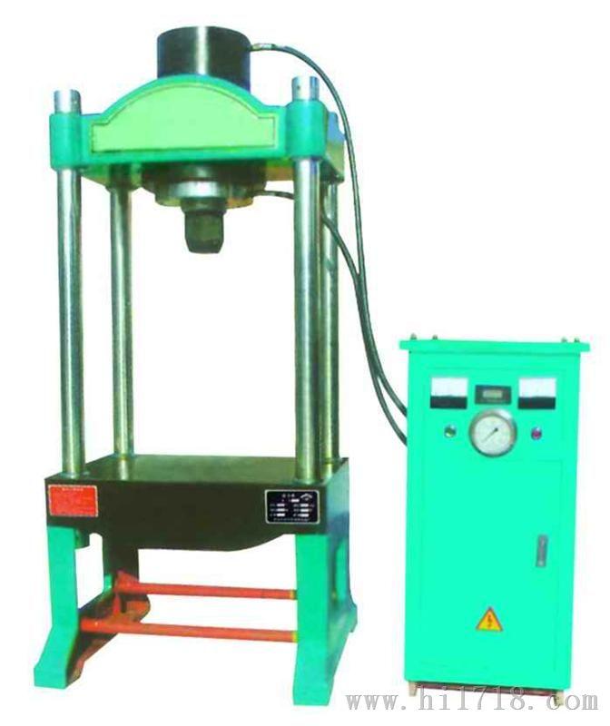 四柱电动液压多功能压力机图片
