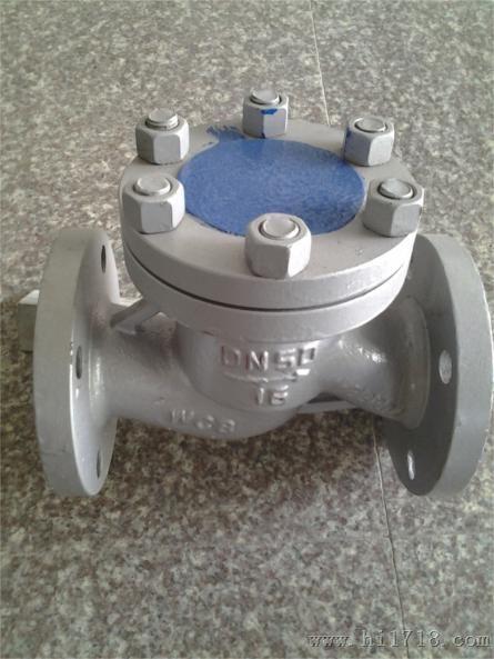 温州h41w-25p-dn65升降式止回阀 安装尺寸与重量:gb 1.图片