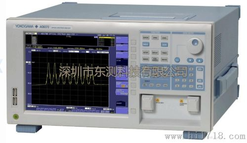yokogawa_> yokogawa ando aq6373 光谱分析仪 > 高清图片