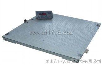 安庆量程2吨1千克电子地磅秤,樱花2t/1kg有框架电子地秤特价供应