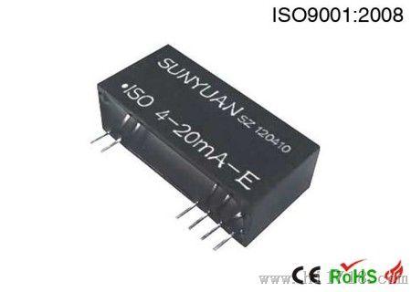 有源4-20MA转无源4-20MA信号隔离器/控制器
