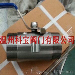 不锈钢广式g.npt.bspt.bsp.di259/2999外螺纹球阀图片