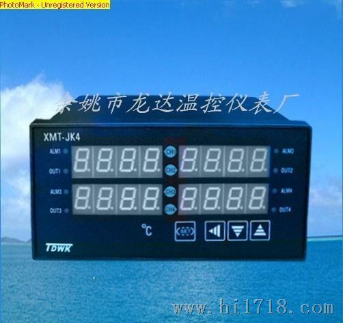 四路温控仪xmt-jk408,xmta-jk408