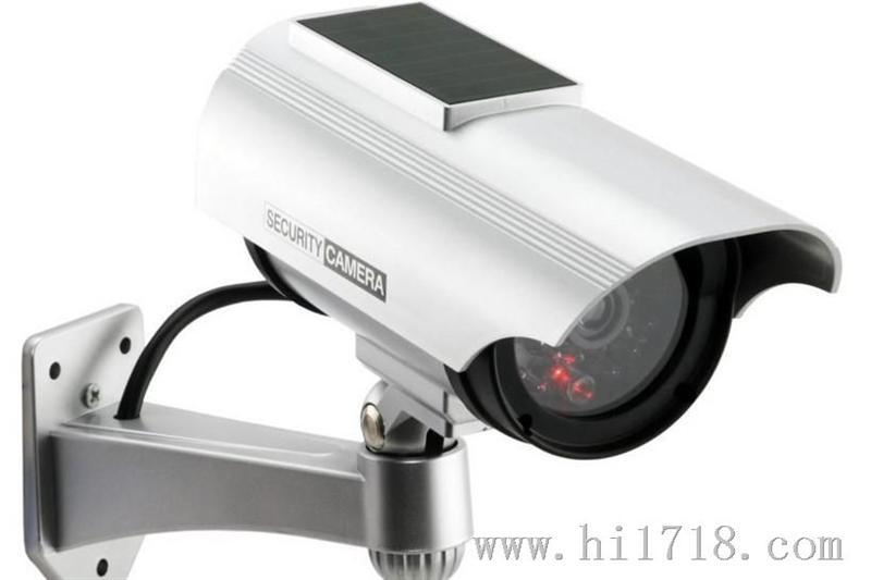 太阳能监控摄像头仿真监控器仿真监控摄像头假监控摄
