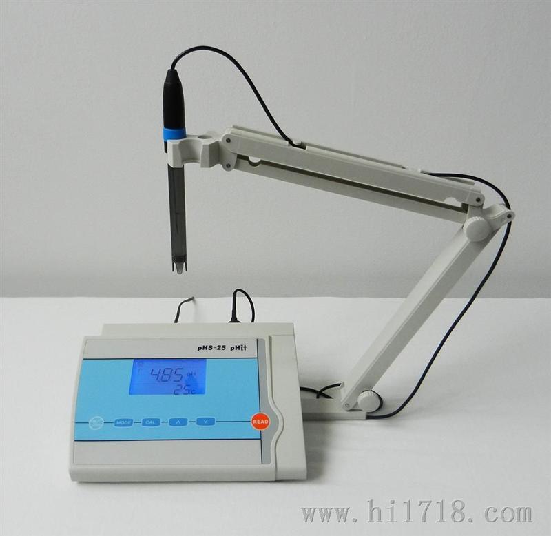 供应pHS-25型实验室台式数显智能ph计酸度计