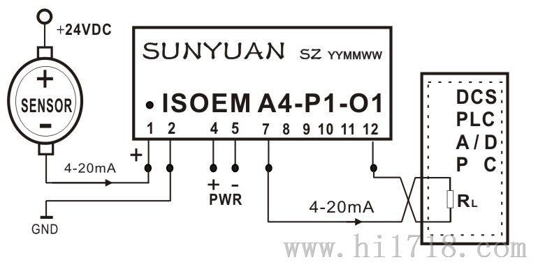 0-2.5V|0-5V|0-10V|0-20mA|4-20mA|0-75mV隔离放大器最新应用方案