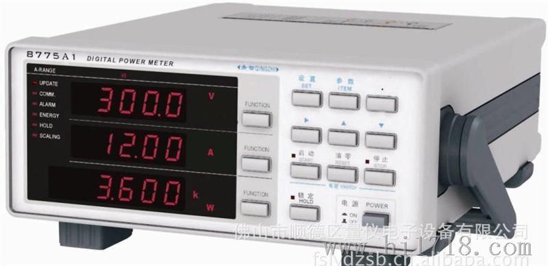青智8716F直流电参数测量仪图片