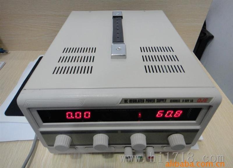 6005S 单路直流稳压电源60V5A图片