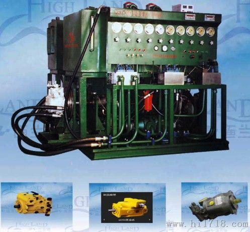 专业制造液压泵维修试验台图片