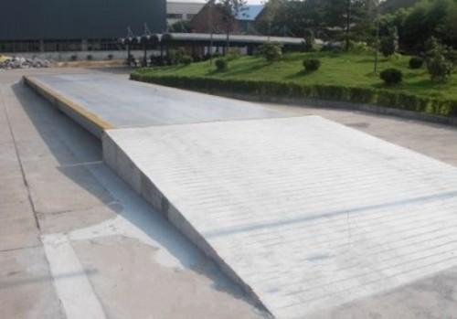 80T/20KG斜坡式大地磅吴江,量程80吨分度值20公斤斜坡式大地磅多少价钱?