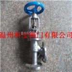 J44W-16/25/40CPR碳钢不锈钢角式法兰截止阀温州