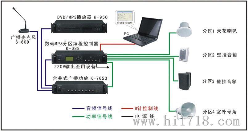 音乐背景系统安装,公共广播系统