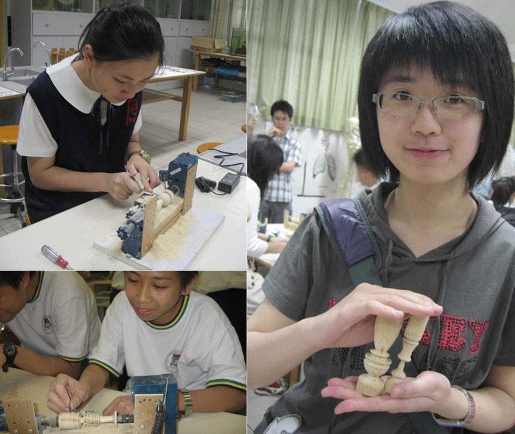 w10002 产品名称:锣床( 木工机床普通版)  适用范围:青少年活动