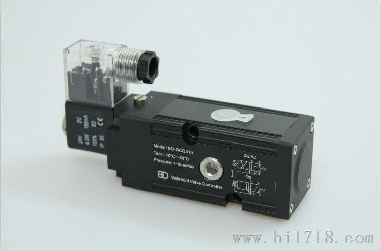 两位三五通转换单电控bdv510c0电磁阀铝合金电磁阀图片