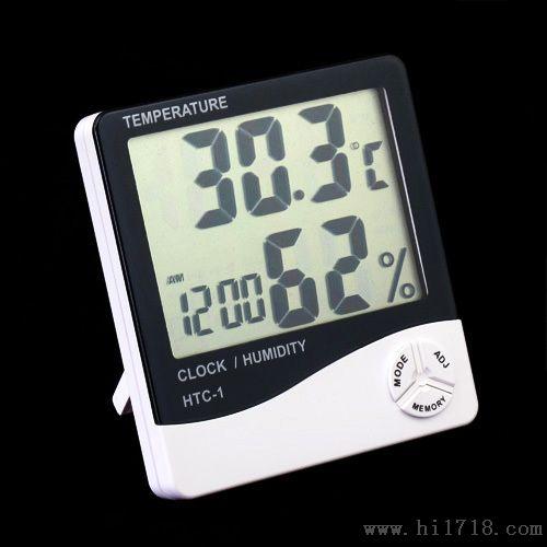 数字显示液晶屏温湿度计