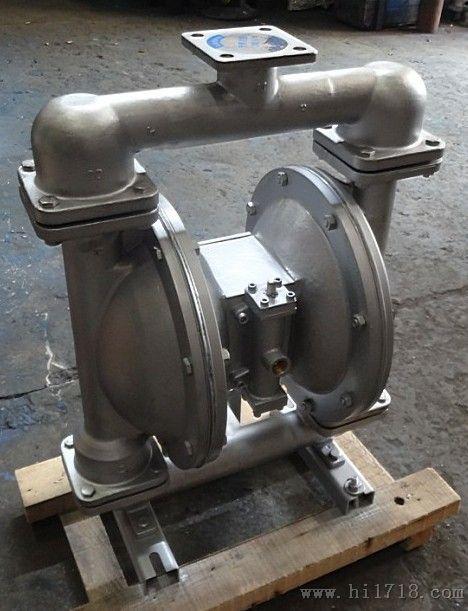 qby型不锈钢气动隔膜泵图片