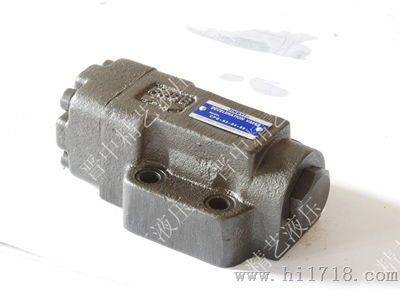 1,液控单向阀除了当压力超过设定的弹簧开启压力时,允许油流自由通过