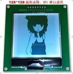 图形128128点阵LCD液晶显示屏