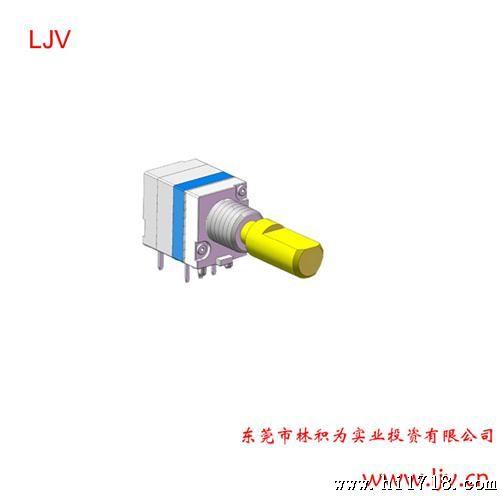 ljv厂家直销旋转编码带按压开关1.8行程 编码器