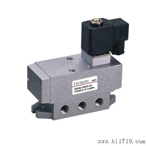 【厂家直销】1寸大口径 电控换向阀 k25d2h-25 二位五通电磁阀图片