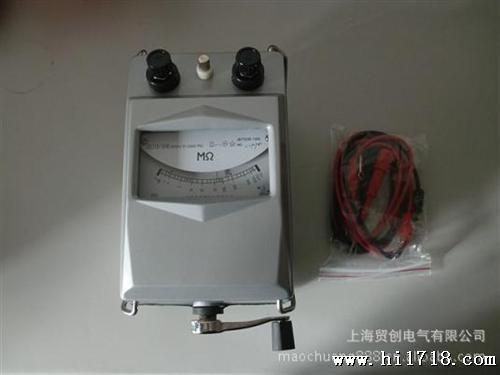 摇表测电缆图解