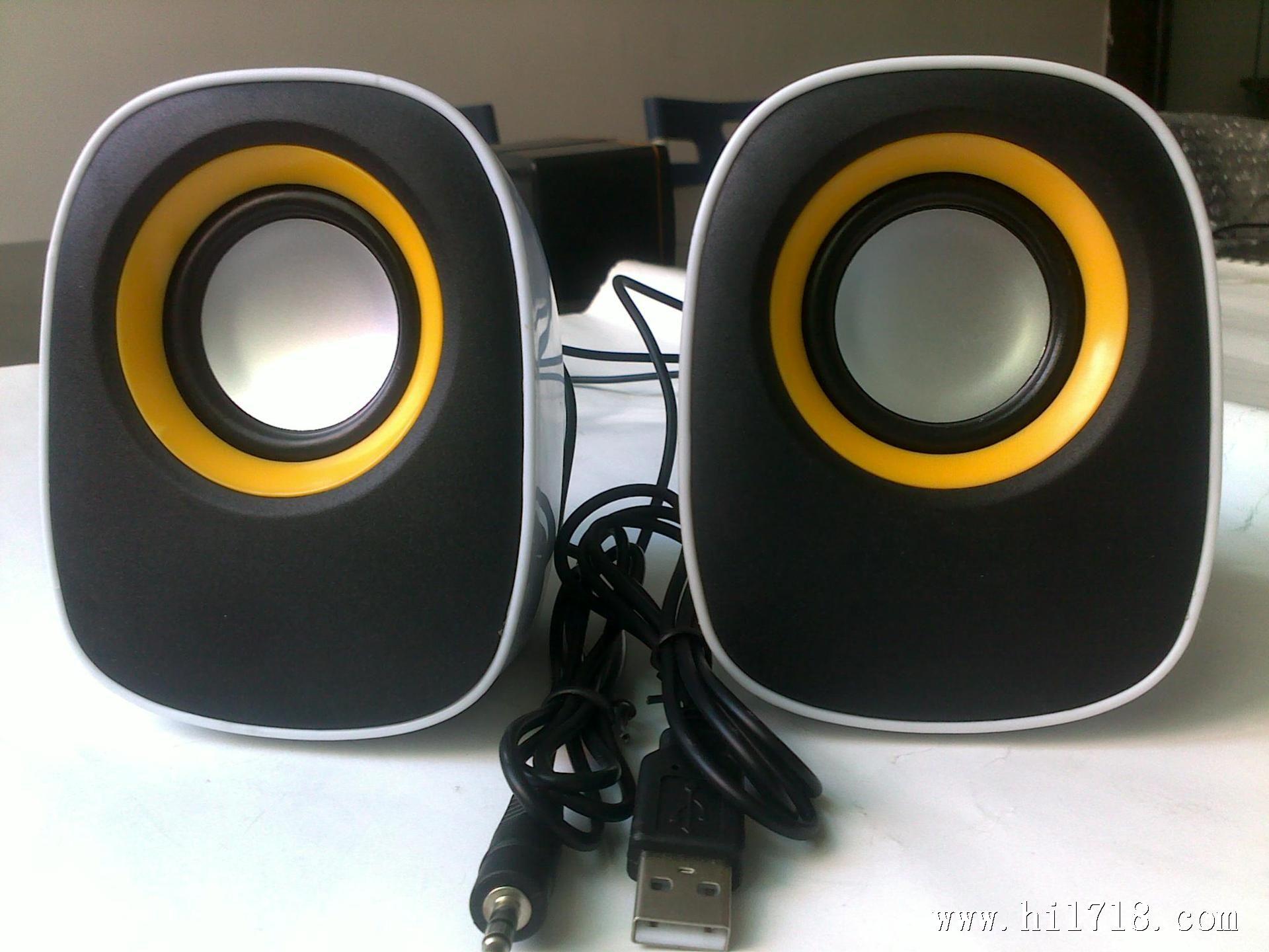 电脑小音箱 笔记本电脑音响 usb小音箱 可爱迷你q蛋小音箱 批发