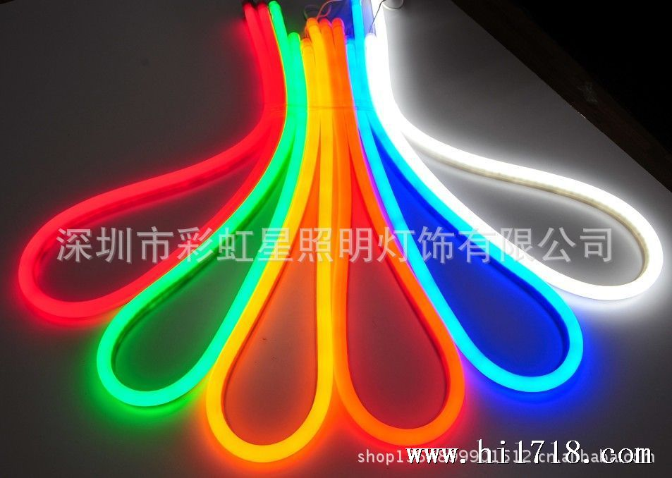 长期供应led霓虹灯带,柔性霓虹管,led灯,装饰
