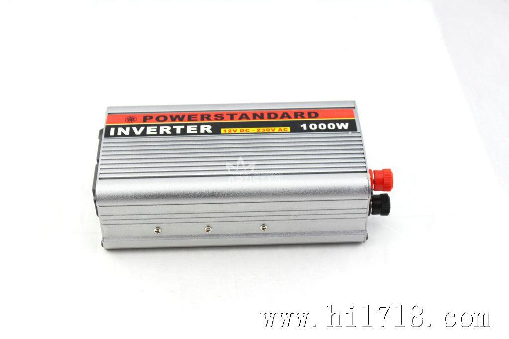 车载1000w逆变器 12v转220v 电源转换器 车载充电器 汽车变压器