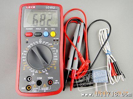 乐测国内首创led测量数字万用表--lc812