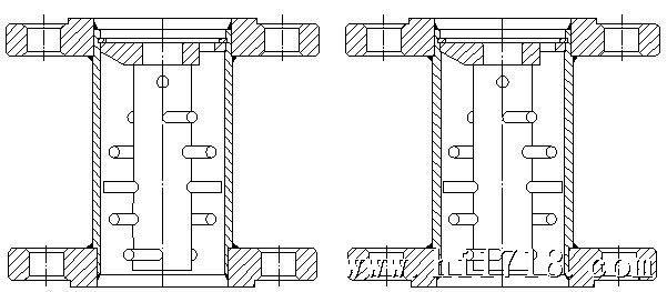 磁过滤器结构 衬PTFE磁过滤器结构 九、限位开关报警装置 限位开关报警装置在指示器中的部分由感应头、铝片等组成,感应头被安装在能被指针轴上的铝片切割的位置,通过改变感应头的位置可以任意设定限位值。感应头输出信号给金属转子流量指示控制仪。 技术参数 1.供电电源:24V AC±10% 2.