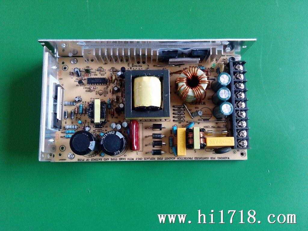 led显示屏专用驱动电源 工控开关电源 明纬  上图是200瓦电源使用接线