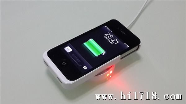QI苹果无线充电器,适用三星S4/S3,手机4/5标准iphone4v苹果ios6卡吗图片