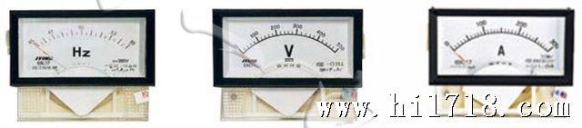 三、仪表接线  四、仪表尺寸  五、使用前注意事项 1. 工作环境温度为-20~+40; 2. 通电使用前请检查各端子接线正确、牢固; 3. 无标准仪器及非专业人员切勿进行调校; 4. PT回路中的电流接线端子螺钉务必拧紧, 保证引线接触可靠, 以免产生事故; 5.当输入标称电压超过AC 600V时,需另配电压互感器PT(二次电压100V)。