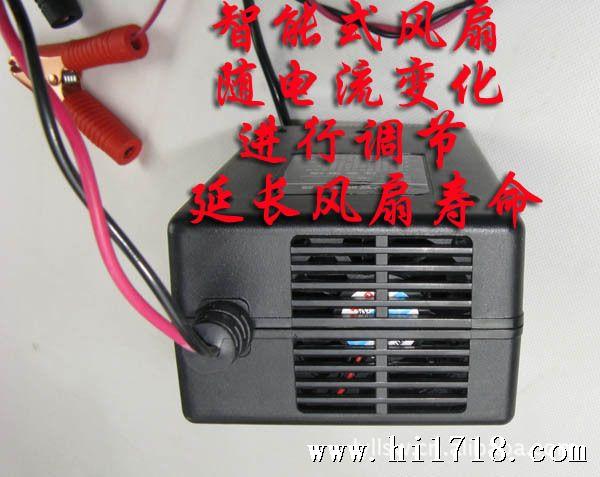 本充电器是以先进的开关集成电路研制而成,它可在市电165V~280V之间的宽电压条件下对蓄电池进行充电,蓄电池充满后将自动停机,转入浮充状态,此时充电对蓄电池具有修复作用,因此电池不会因过充或者充电不足而使电池硫化而造成容量变小和使用寿命变短。克服老式低频充电器的缺点,增加了电池的放电容量和使用寿命 产品的特点: 1、三段式智能型充电设计 2、电池修复功能 3、采用目前最先进脉充充电技术 4、短路保护 5、反接保护 6、充足显示 7、智能风扇技术 ------好多充电器电池没电后不工作,本款可以充、、 -