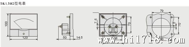 85c1指针式直流电流测量仪表