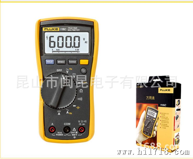 1 所有ac电压量程规定为量程的1 %到100 %。由于没有规定低于量程的1 %的输入信号的量程,因此当测试线从回路中取下或短接在一起时,如果本仪表和其他真有效值仪表的读数不显示零,均属正常。对于电压,4000个字时峰值因数≤ 3,达到满量程时线性降低到1.5。AC电压为ac耦合,ac mV为dc耦合。 2 频率为ac耦合时,ac电压频率为5 Hz到50 kHz。频率为dc耦合时,ac电流频率为45 Hz到5 kHz。