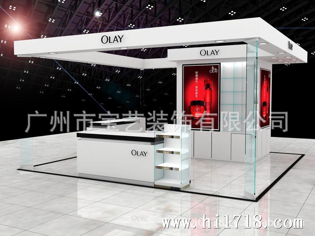 广州展柜厂家设计与制作及安装各类化妆品展柜 展示柜