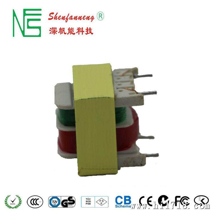 1.抗干扰性能好,可靠性能高。II类电源,无接地引脚 2.采用优良高导磁率环保EI型硅钢片,具体静太功耗小,工作效率高,输出功率小的部分产品符合CEC/EUP/MEPS等全球各国节能标准. 3.直流纹波小,工作效率高,待机功耗低,发热量小,使用寿命长。 4.输入电压稳定;符合全球使用标准。 5.绝缘性能好,抗电强度高。(耐压3750V) 6.产品具有短路,过载,过压保护功能。 7.满负荷高温烧机,100%老化测试 8.