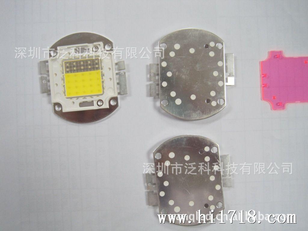 led集成光源 30w 大功率集成白蓝配比 普瑞芯片 水族