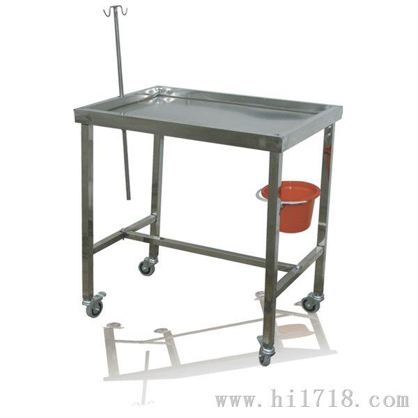 产品名称:小动物解剖台 产品型号:BYR-JPT-1 产品参数: 规格:750500850mm 性能:附带万向轮、输液架、器械盘、可折叠、运动医疗解剖车材质:不锈钢(可根据用户要求定做) 产品名称:大动物解剖台(普通) 产品型号:BYR-JPT-2 产品参数: 规格:1300*700*850 性能:整体采用304优质不锈钢板(1.