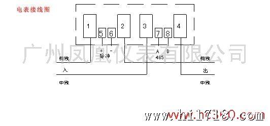 单相电表工作原理_单相电子式电能表的原理图-家用单相电子式电度表的工作原理及 ...