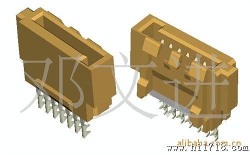 供应esata 7pin公头铆压式电脑连接器