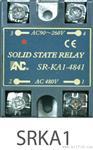 SSR固態繼電器 單相 交流/直流電阻輸出控制  SRKA
