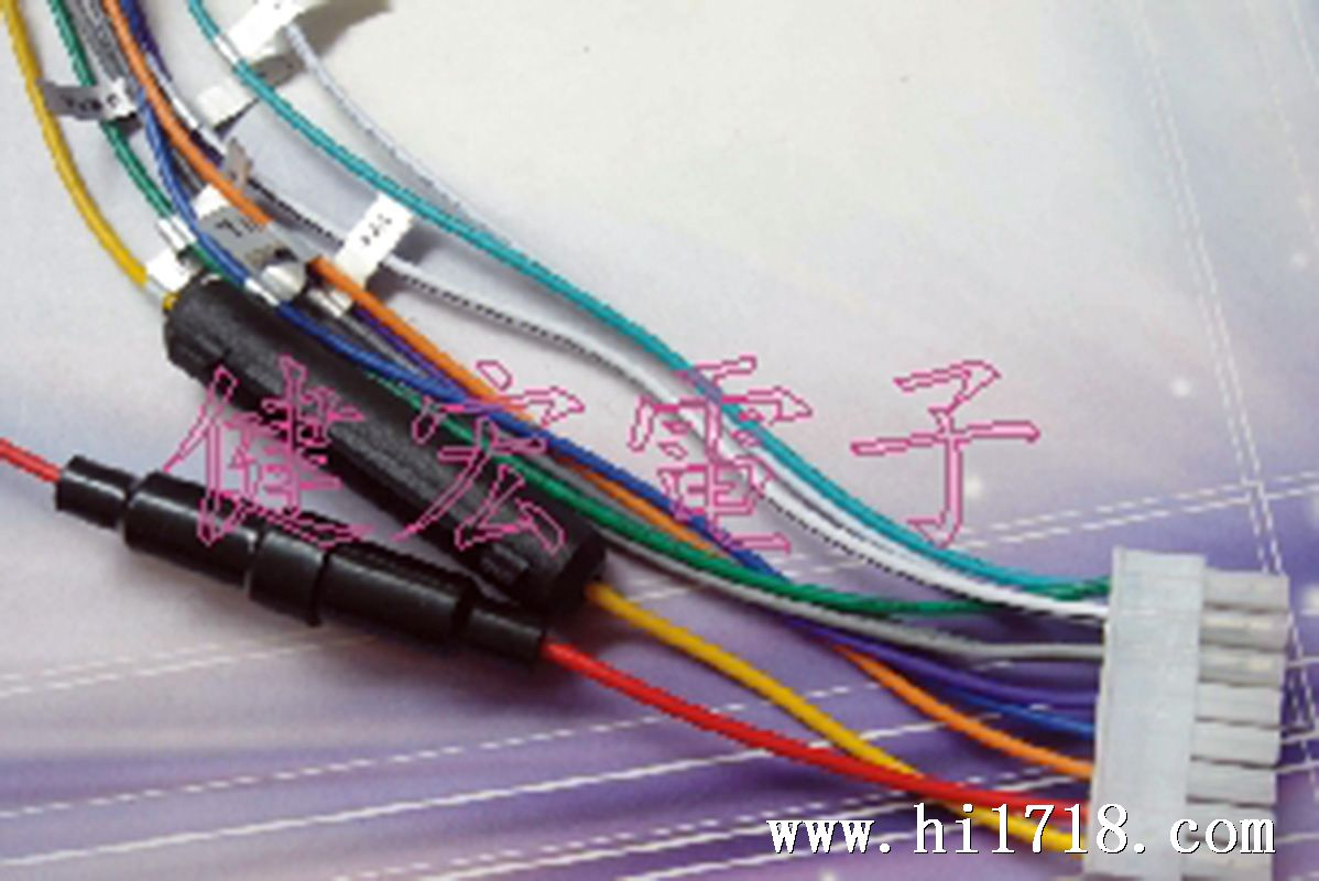 供应各种汽车线束,汽车保险丝盒线束 汽车音响连接