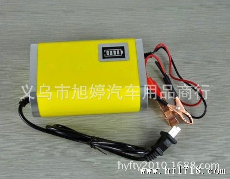 汽车电瓶充电器摩托车电瓶充电器智能电子脉冲蓄电池
