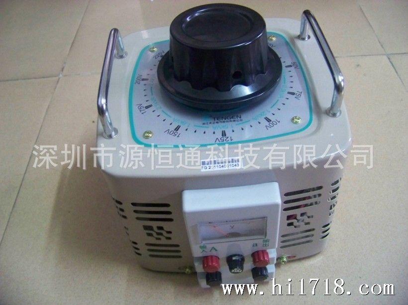 天正自耦变压器TDGC2 3KVA单相自耦调压器0 250V可调 原装现货图片