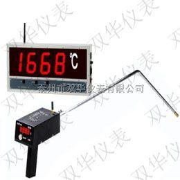 壁挂式钢水测温仪接快速热电偶炼钢专用