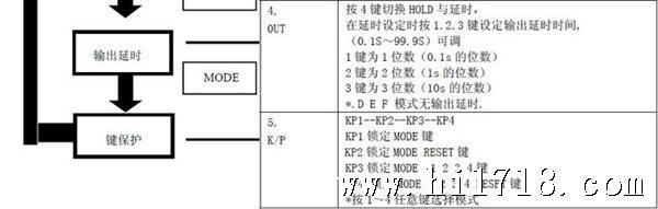 DHC6A智能式时间继电器 工作电压:AC/DC100-240V 尺寸:48*48*90 开孔:45*45 延时范围:0.01S-999.9H 触点:1组延时 3A 显示:正 或 倒 计 时 LCD液晶显示 黄光背景 模式:多工作模式